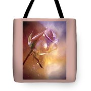 Sparkling Rose Tote Bag by Anne Macdonald