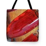 Sparkling Rose On Riddling Rack Tote Bag
