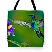 Sparkling Violetear Tote Bag