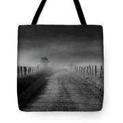 Sparks Lane In Black And White Tote Bag