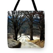 Silence Of Winter Tote Bag