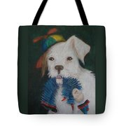 Sparky And Dick Tote Bag
