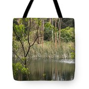 Sparrow In A Tree Tote Bag
