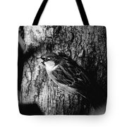 Sparrow On A Tree Tote Bag