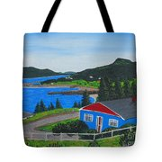 Sparrows Point - Ship Harbour N L Tote Bag