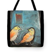 Sparrows Tote Bag