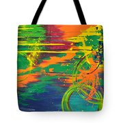 Spatial Slice Diffusion Tote Bag