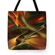 Spatially And Temporally Tote Bag
