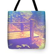 Speak Softly Autumn Reflections Tote Bag