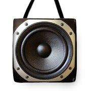 Speaker Tote Bag by Les Cunliffe