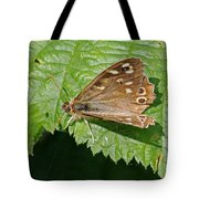 Speckled Wood Butterfly Tote Bag