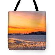 Spectacle Island Sunrise Tote Bag