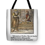 Spectacle Maker, 1568 Tote Bag