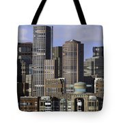 Spectacle View Pixelated Tote Bag