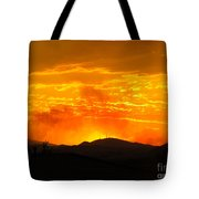 Spectacular Nevada Sunset  Tote Bag