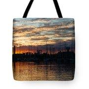 Spectacular Sky - Toronto Beaches Marina Tote Bag