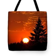 Spectacular Sunset IIl Tote Bag