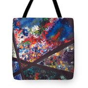 Spectral Chaos Tote Bag