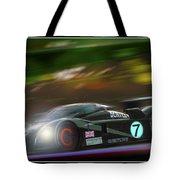 Speed 8 At Night Tote Bag