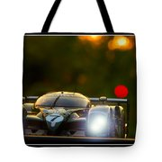 Speed 8 At Sunset Tote Bag