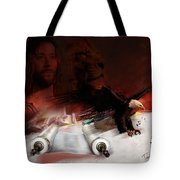 Speed In The Spirit Tote Bag