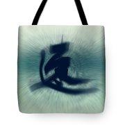 Speed - Modern Japanese Calligraphy Tote Bag