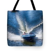 Speed On The Water Tote Bag