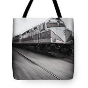 Speeding Along Tote Bag