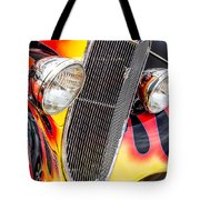 Speeding Into The Light Tote Bag