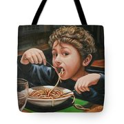 Spaghetti Boy Tote Bag