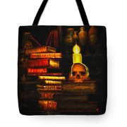 Spells Tote Bag by Bob Orsillo