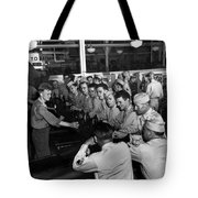 Spending Time At The Px Tote Bag