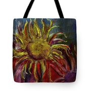 Spent Sunflower Tote Bag