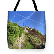 Sperone Fortress In Genova Tote Bag