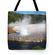 Spewing Beauty Tote Bag