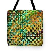 Spex Future Abstract Art Tote Bag