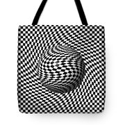 Sphere Abstract Pinch Tote Bag