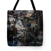 Sphere And Reflections Tote Bag
