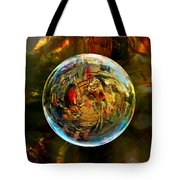 Sphere Of Refractions Tote Bag