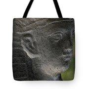 Sphinx Statue Head Grey Usa Tote Bag
