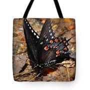 Spicebush Swallowtail Butterfly Preflight Tote Bag