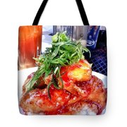 Spicy Sweet Chicken Tote Bag