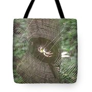 Spider Light Tote Bag