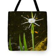 Spider Lily Wildflower Tote Bag