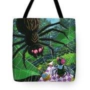 Spider Picnic Tote Bag