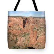 Spider Rock  Canyon De Chelly Tote Bag