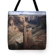 Spider Rock, Canyon De Chelly Tote Bag