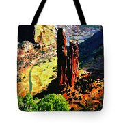 Spider Rock Canyon Dechelly  Tote Bag