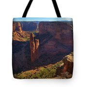 Spider Rock Sunrise Tote Bag