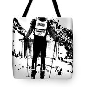 Spider Sabich Looking Over The Race Course Tote Bag